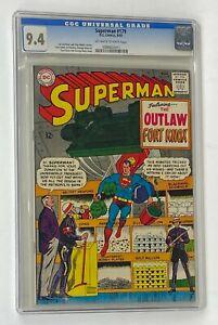 SUPERMAN #179 DC Comics 1965 CGC 9.4