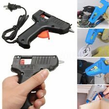 20W Hot Melt Mini Glue Gun Trigger Electric Hand Tool For Hobby Craft DIY Black