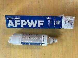 Genuine GE AFPWF Autofill Pitcher Water Filter, 6-Month Twist-In Refrigerator