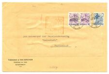 DUTCH INDIES JAPAN OCCUPATION 2602-SOERABAJA PASOEROEAN-- CENSOR F/VF