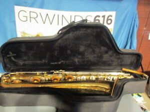 Selmer Signet Baritone Saxophone Range To Low A #893315
