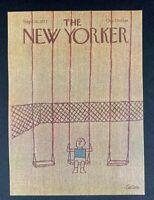 COVER ONLY ~ The New Yorker Magazine, September 26, 1977 ~ Robert Tallon