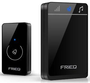 Portable Waterproof Wireless Doorbell by FRiEQ