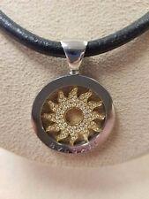 Bvlgari Bulgari Sun Tondo 18K yellow Gold Necklace