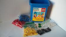 Lego 1615 Basic Set in Bucket (1987) rare
