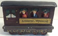 Home Town Express Christmas Train Collectible Kemmerer Wy Passenger Car 1998 42