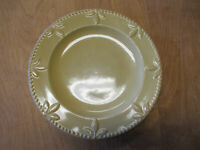 """Signature SORRENTO WHEAT GOLD Dinner Plate 11 3/8""""     6 available"""