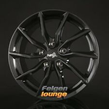 4 Jantes Alu NB Wheels nb1 Black 8x17 et50 5x112 ml72, 6 NEUF