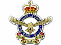 "4"" Australian royal Air Force  car bumper sticker decal"
