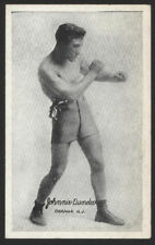 1923 Boxing Exhibit Card - Johnnie Dundee