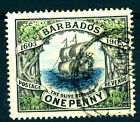 BARBADOS 1906, YT 83 THE OLIVE BLOSSOM, 1 P. VERY FINE USED