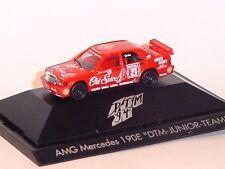 "1:87 HERPA 1994 AMG-Mercedes 190E ""Old Spice"" #21 A.Grau PC box RARE COLLECTABLE"