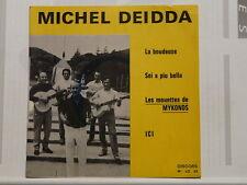 MICHEL DEIDDA Les mouettes de Mykonos/La boudeuse.. DEDIDACE Discors L 03 CORSE