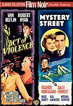 Act Of Violence/Mystery Street (DVD, 2007) Film Noir Double Feature Mint Disc!