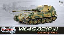 Dragon Ultimate Armor 1/72 Scale WWII German 1945 VK.45.02(P)H Tank 60531