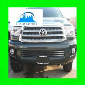 FOR TOYOTA SEQUOIA 2008-2014 CHROME TRIM FOR GRILLE GRILLE 2009 2010 2011 2012