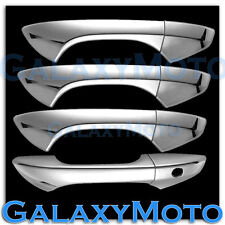 08-12 HONDA ACCORD Chrome plated Full ABS 4 Door Handle W/O PSG Keyhole Cover