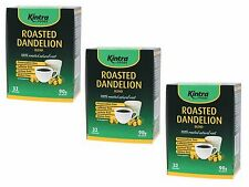 3 x 32 bags KINTRA Roasted Natural Dandelion Root Blend  (96 Filter bags /270g )