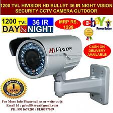 BRAND NEW HIVISION VISION CCTV BULLET SONY CHIP 1200TVL CAMERA SECURITY SYSTEM16
