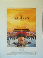 "THE LAST EMPEROR 27""x41"" Original Movie Poster One Sheet ROLLED Bertolucci 1987"