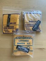 3 Cambrian Private Owner Wagon Kits OO Gauge
