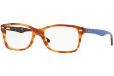Ray Ban Eyeglasses RB 5228 5799 Havana / Light Blue 53-17-140 #15