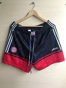 FC Bayern Munich 1997/1998/1999 away Size L Adidas football shorts soccer VTG