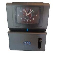 Lathem Model 2126 Heavy Duty Manual Time Clock Electric Punch Clock Withkeys