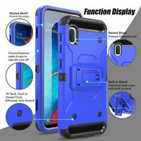 For SAMSUNG GALAXY A10E Phone Case Shockproof Brushed Hybrid Rugged Cover