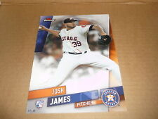 2019 Topps Finest EXTENDED SET 5 X 7 JUMBO 04/49 JOSH JAMES ASTROS