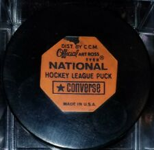 Vintage Art Ross Converse New York Rangers Puck 1969-1977 Rubber Crest Game USA