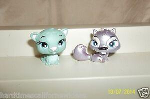 Bratz Lil Angelz Pets Petz Lot of 2 Chipmunk 286 & Green Ferret 189