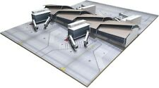 Herpa Wings 533881 Los Angeles Tom Bradley int. Terminal Midsection  1:500