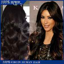 #1 Virgin Brazilian Body Wave Human Hair Lace Front Wig 18 Inches 130% Density