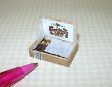 Miniature Taller Targioni Filled Cigar Box, Super High Detail! DOLLHOUSE 1:12