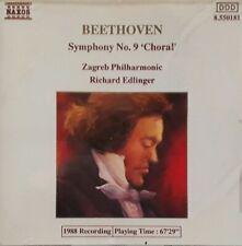 Beethoven Symphony No 9 Choral CD.1988 Naxos 8550181.Zagreb Philharmonic.
