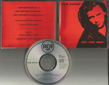 RICK ASTLEY Cry for help RARE EXTENDED TREMIX & EDIT PROMO DJ CD single 1991 USA