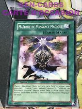 OCCASION Carte Yu Gi Oh MAITRISE DE PUISSANCE MAGIQUE SDSC-FR020 1ère édition