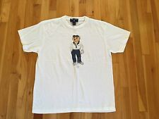 Ralph Lauren Vintage Polo Bear T Shirt - Womens Mens GOLF - RARE!