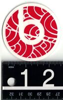 BEATS BY DRE STICKER Beats by Dr. Dre Headphones 2.5 in Round Red Decal