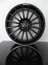 "X4 19"" C63 ALLOY WHEELS BLACK SERIES MERCEDES C CLASS W204 AMG SPORT COUPE 5x112"