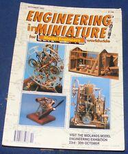 ENGINEERING IN MINIATURE OCTOBER 1993 - THE ECHILLS WOOD RAILWAY