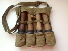 Surplus China HAND GRENADE FOUR STICK 3521 type POUCH- 1966s Army Military