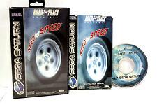 THE NEED FOR SPEED SEGA SATURN UK USED ROAD & TRACK VERSIONE PAL UK FR1 56418