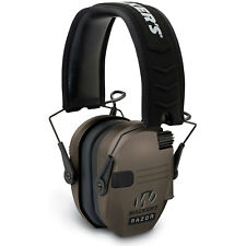 Walkers Razor Series Slim Lo Profile Ear Muffs Hearing Protection - Flat Dark Ea
