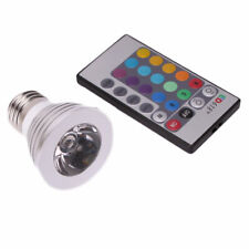 E27 16 Color Changing LED RGB Magic Spotlight Bulb Lamp with Remote Control