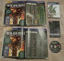 Metal Gear Solid 3 Snake Eater-Playstation 2 ps2 + guía tutorial completo