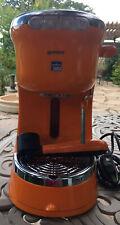 Guzinni Blue lavazza espresso machine Orange Single serve Powers On Parts/repair