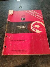 John Deere 2950 Tractor Operator's Manual Om-L39652 Issue G2
