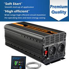 3000W 6000W Convertitore DC 12V AC 220V Power Inverter Softstart EDECOA